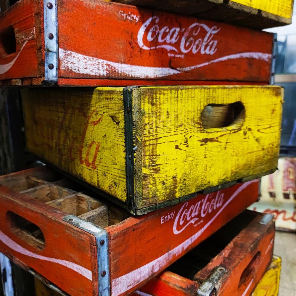 Cassette Coca Cola anni '50
